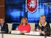 На пресс-конференции Минфин Крыма подвел итоги 2017 года и рассказал о новшествах в работе финансового ведомства